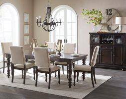 1718GY Dining-Begonia Collection